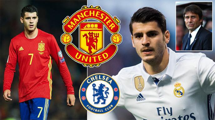 MU, Morata, Chelsea, Conte, Mourinho, Real