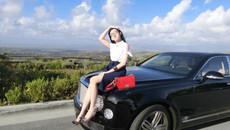 'Phát sốt' với gái xinh 9x sở hữu dàn siêu xe tiền tỷ