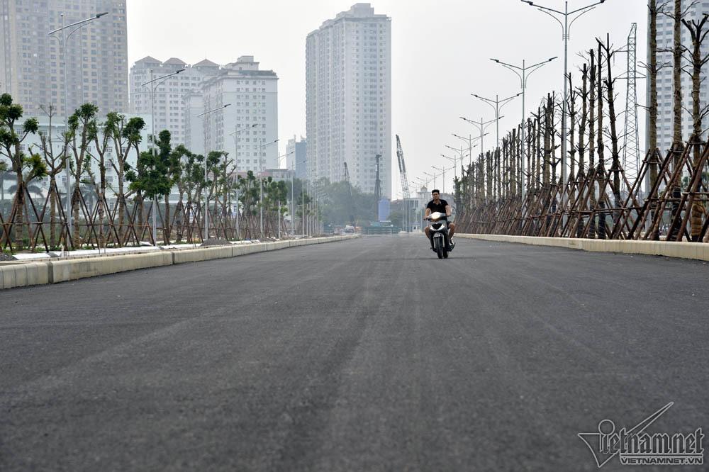 Ngắm đường nghìn tỷ nối 3 quận Thủ đô từ trên cao