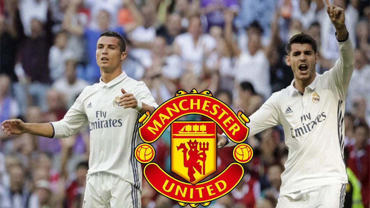 Ronaldo, MU, Real Madrid, MU, Morata, James Rodriguez
