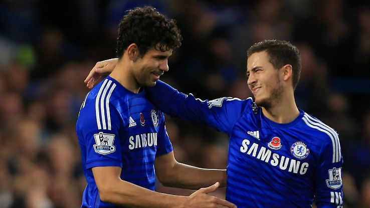 tin thể thao, tin bóng đá, Hazard, Costa, Ronaldo