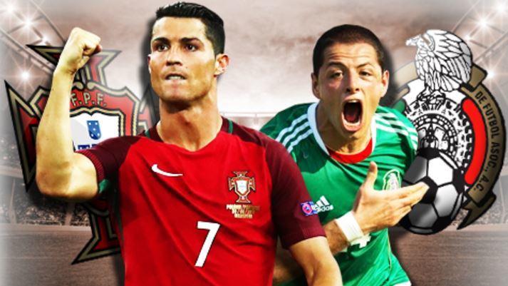 Mexico, Bồ Đào Nha, Confederations Cup