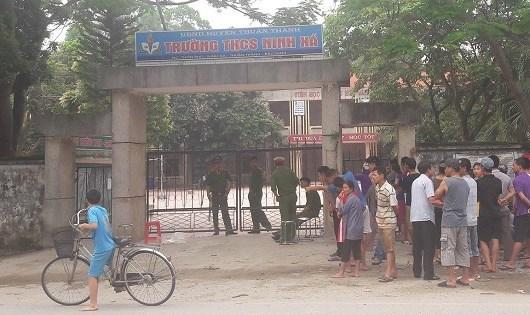 Bắc Ninh, bảo vệ bị sát hại, THCS Ninh Xá, bảo vệ trường học, bảo vệ bị giết