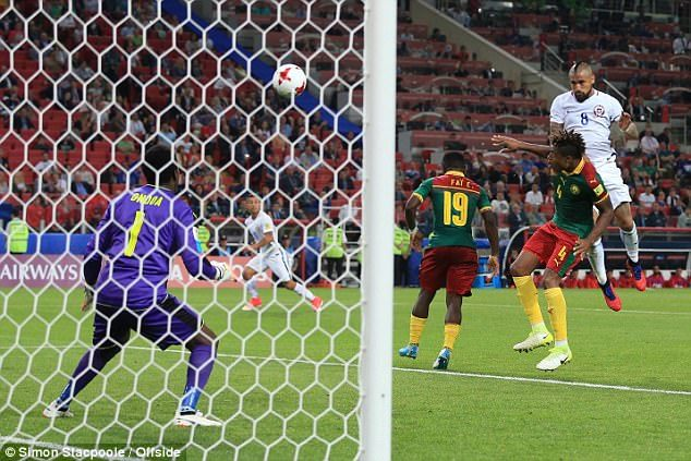 Cameroon vs Chile, Confederations Cup 2017