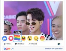 Biểu tượng cầu vồng gây sốt trên Facebook