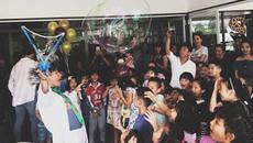 Cường Đô La, Hồ Ngọc Hà cùng nhau mừng sinh nhật Subeo