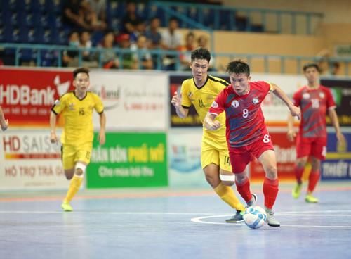 Giải VĐQG HDBank Futsal  2017: Sanatech Khánh Hòa tăng tốc