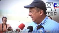Tổng thống Costa Rica nuốt phải ong bắp cày trong lúc phát biểu