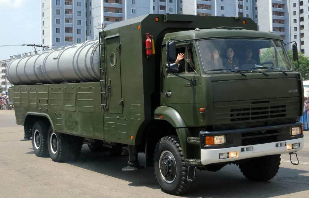 Triều Tiên, vũ khí, tên lửa, S-300,sao việt