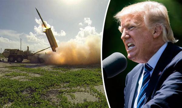 Donald Trump, Mỹ, Hàn Quốc, hệ thống THAAD, phòng thủ tên lửa