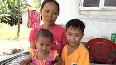 Xót xa gia đình có bố mẹ bệnh tật, hai con đều bị huyết tán