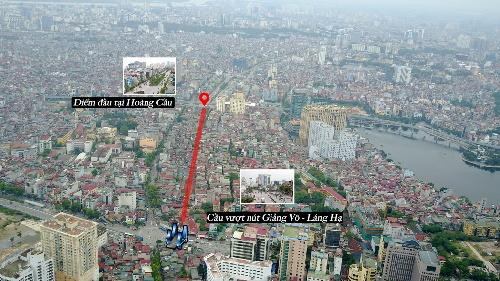 đường đắt nhất hành tinh, dự án đường Hoàng Cầu-Voi Phục, dự án xây dựng đường vành đai 1