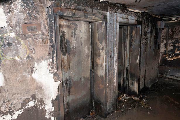 Đống tro tàn ám ảnh trong chung cư cháy rụi ở Anh