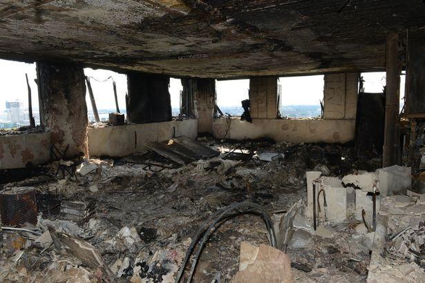 vụ cháy ở Anh, hỏa hoạn, tháp Gren Fell, London