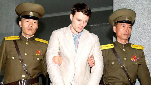 Mỹ, sinh viên Mỹ bị Triều Tiên bắt giam, Triều Tiên