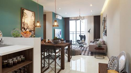 Tara Residence nhắc nhớ một Sài Gòn xưa cũ, tuyệt đẹp