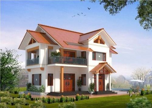xây nhà, mẫu nhà 2 tầng đẹp, mẫu nhà 2 tầng hiện đại