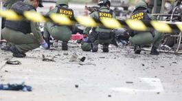 Bom nổ ven đường, 6 lính Thái Lan thiệt mạng