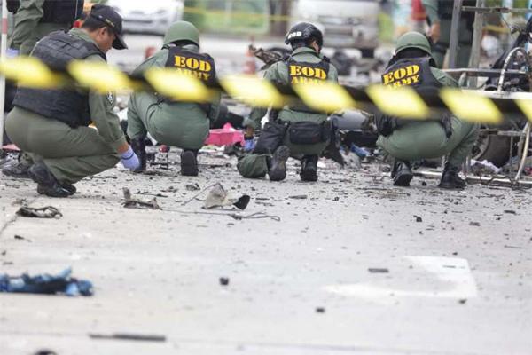 Thái Lan, đánh bom ven đường, Hồi giáo li khai