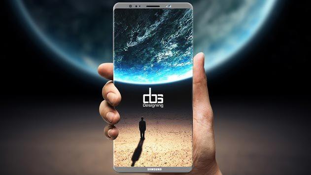 Hé lộ lí do Samsung không tích hợp cảm biến vân tay vào màn hình Note 8