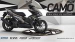 Yamaha Motor VN ra mắt NVX 155 Camo phiên bản giới hạn