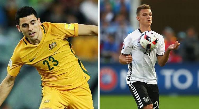 Link xem trực tiếp Đức vs Australia, 22h ngày 19/6
