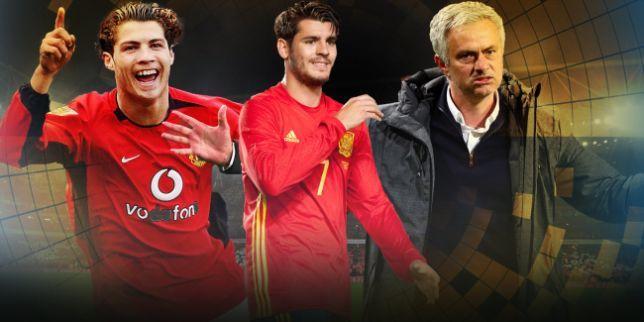 MU, Chelsea, Conte, Mourinho, Morata