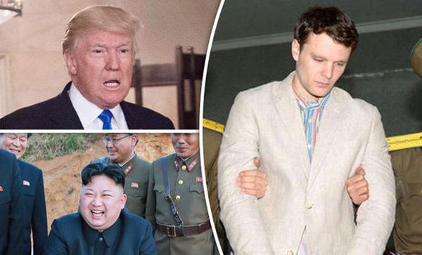 Phản ứng đồng loạt sau cái chết của sinh viên Mỹ bị Triều Tiên bắt