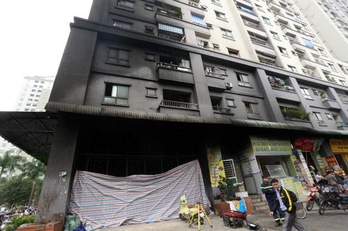 cháy chung cư, nghiệm thu phòng cháy chữa cháy, chung cư ông Thản