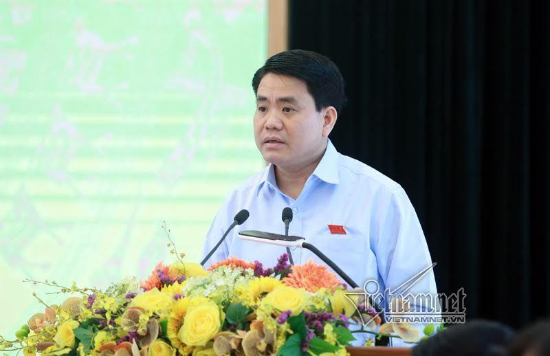 Chủ tịch Hà Nội, Nguyễn Đức Chung, chặt cây, Phạm Văn Đồng, di dời cây xanh