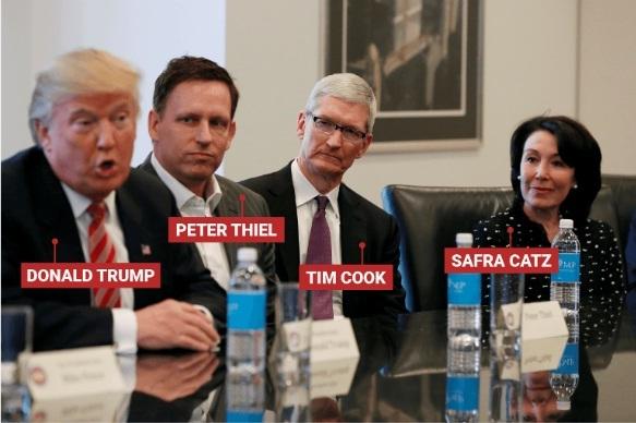 Donal Trump, Mỹ, Công nghệ