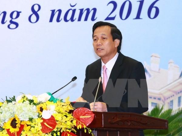 Đào Ngọc Dung, Bộ Lao động-Thương binh và Xã hội, Ủy ban Kiểm tra Trung ương, Ban cán sự Đảng, xuất khẩu lao động