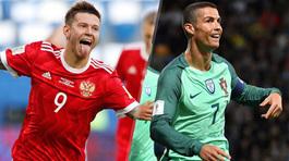 Nga vs Bồ Đào Nha: Có Ronaldo, khách đè mặt chủ