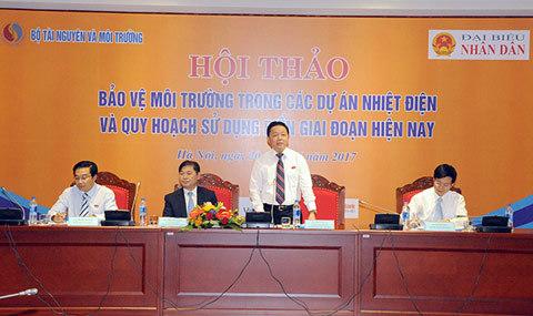 Đảm bảo công nghệ & môi trường mới được phép đầu tư nhiệt điện