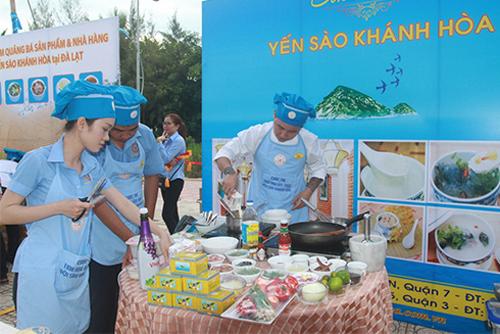 Hội thi Tinh hoa ẩm thực yến sào Khánh Hòa