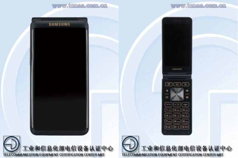 Smartphone gập sắp ra mắt của Samsung lộ ảnh?