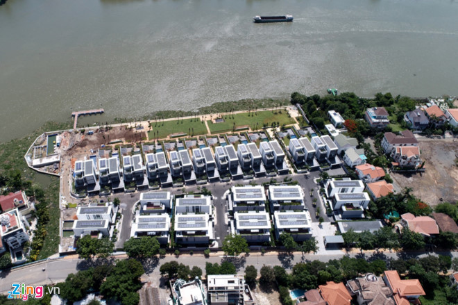 dự án Thảo Điền Sapphire, biệt thự triệu đô, bất động sản TP.HCM, xử phạt công trình vi phạm, giấy phép xây dựng
