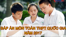 Lời giải tham khảo môn toán mã đề 107 tốt nghiệp THPT quốc gia 2017