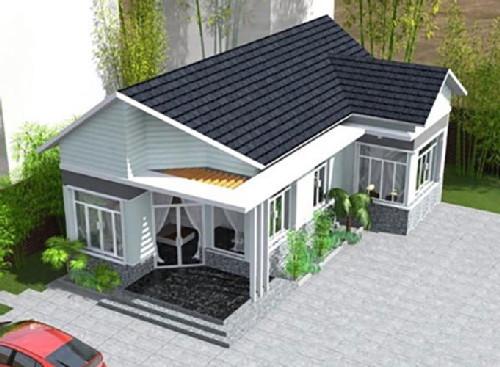 nhà cấp 4, thiết kế nhà, mẫu nhà đẹp