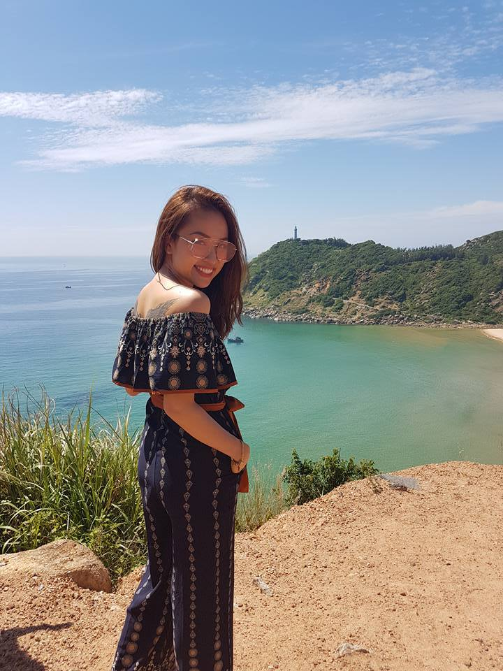 MC Thanh Vân, biển Phú Yên