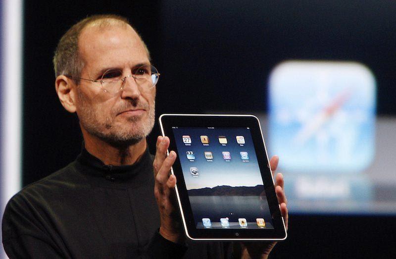 iPad, Apple, Steve Jobs