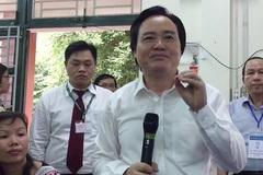 """Bộ trưởng Phùng Xuân Nhạ: """"Thi nghiêm túc nhưng cần thoải mái tâm lý cho thí sinh"""""""