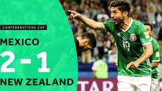 Ngược dòng ngoạn mục, Mexico chiếm ngôi đầu bảng