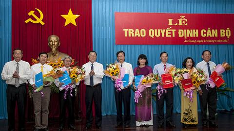 Nhân sự mới TP.HCM, An Giang, Tây Ninh