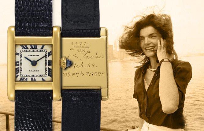 Đồng hồ đeo tay cực đẹp của vợ Tổng thống Mỹ Kennedy