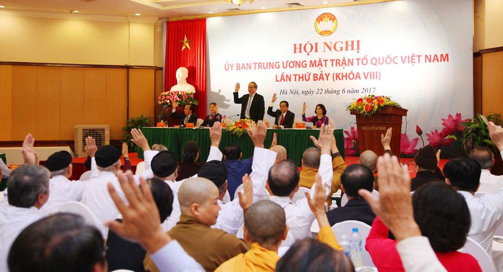 Trần Thanh Mẫn,Chủ tịch Mặt trận tổ quốc,Nguyễn Thiện Nhân