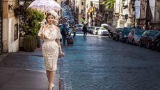 Kiều nữ The Face lại đẹp 'đốn tim' fan ở Ý