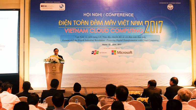 điện toán đám mây, internet, Việt Nam