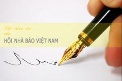 Lời cảm ơn của Hội Nhà báo Việt Nam