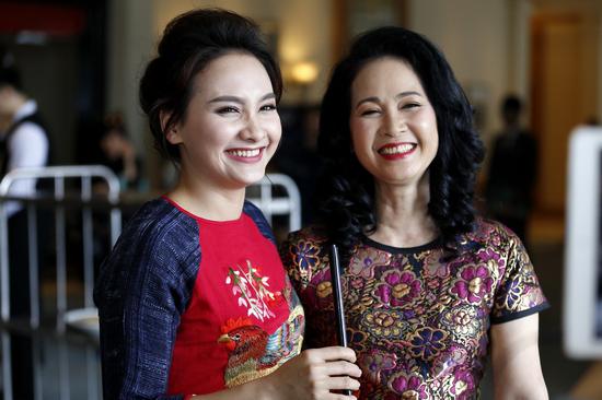 Sống chung với mẹ chồng, Bảo Thanh, Lan Hương, phim truyền hình, sao việt